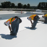 Safeguarding flat roofs